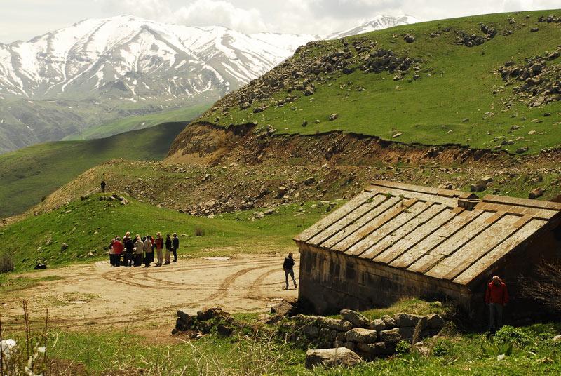 Krajobrazy Armenii - podróż rowerem
