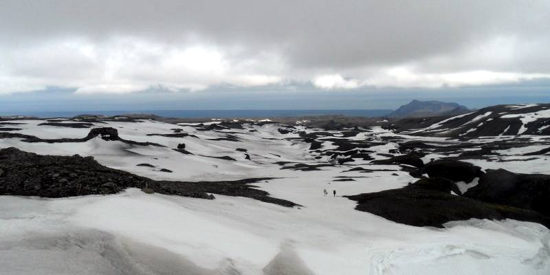 Trekking na Islandii