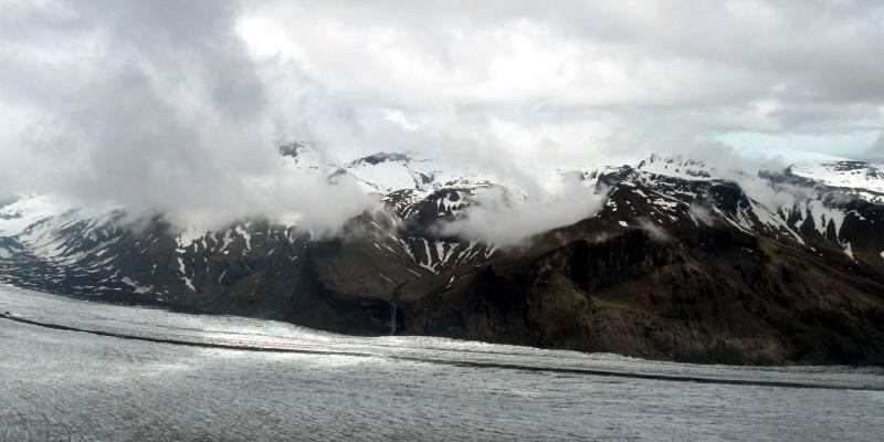 Islandzki lodowiec Vatnajokull