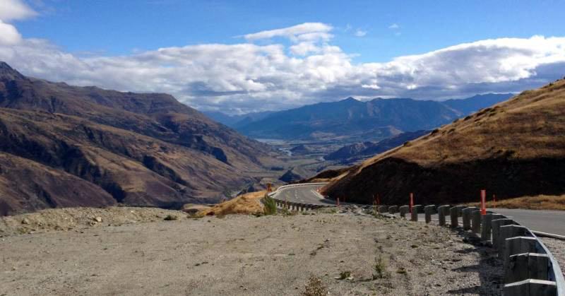 Motocyklowa podróż przez Nową Zelandię