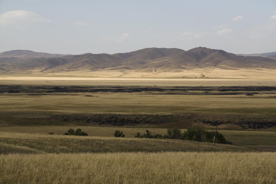 Mongolski krajobraz - zdjęcia z podróży