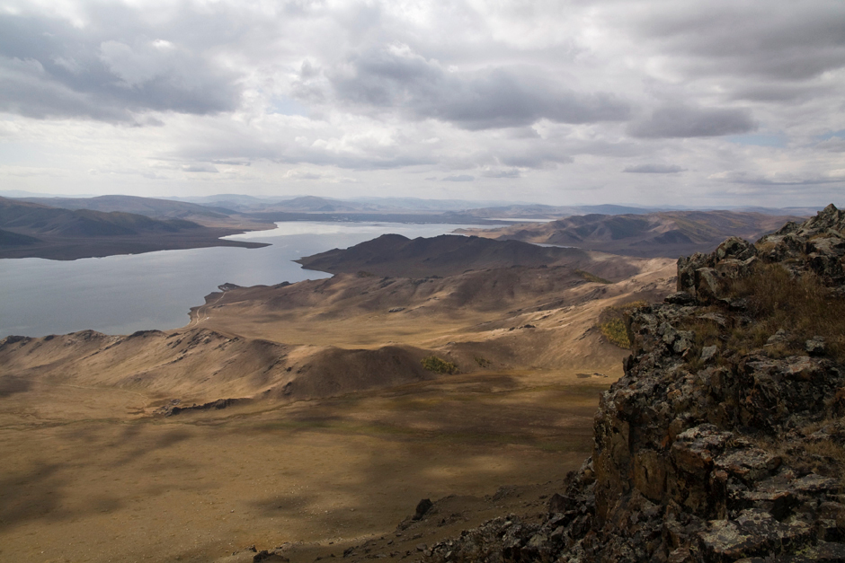 Góry Mongolii