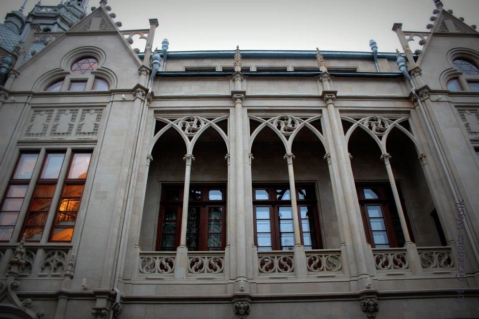Zabytkowe budynki w Baku - foto
