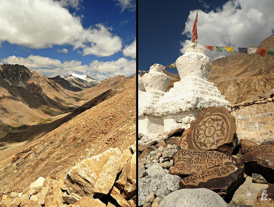 Krajobrazy Himalajów - pocztówka z Indii