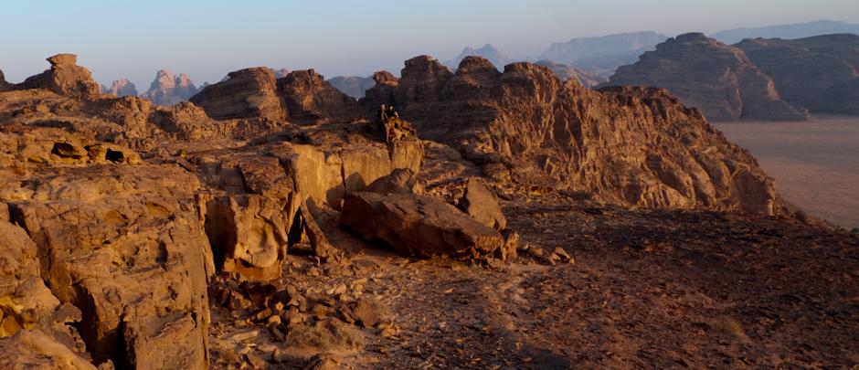 Wadi Rum o świcie