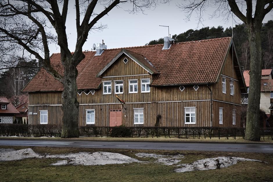 Drewniane domki nad Morzem Bałtyckim - zdjęcia z Litwy