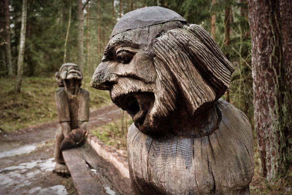 Góra Czarownic na Litwie - foto