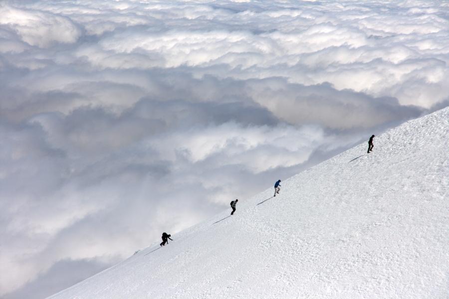 Tongariro Alpine Crossing. (Fot. Ania Bunikowska i Tomasz Marchewka)