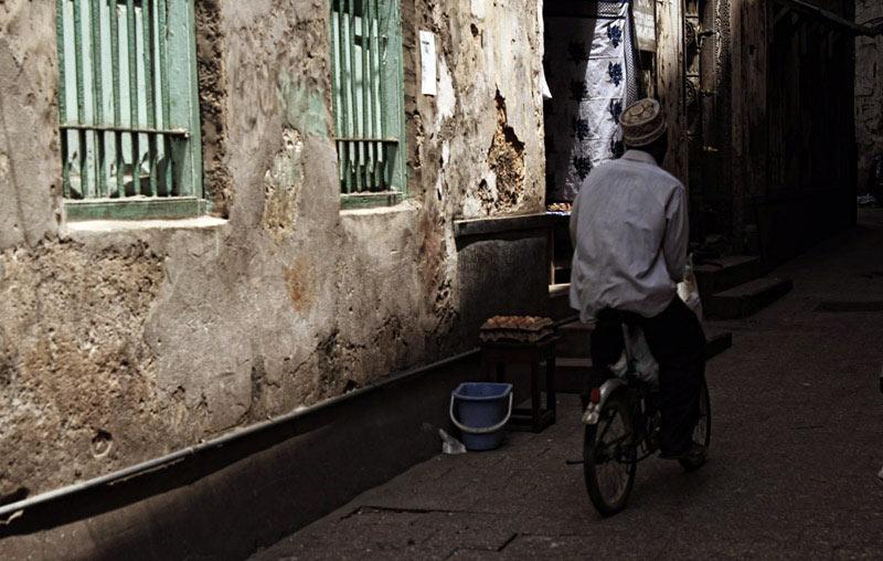 Rowerem po Stone Town - zdjęcia z podróży na Zanzibar