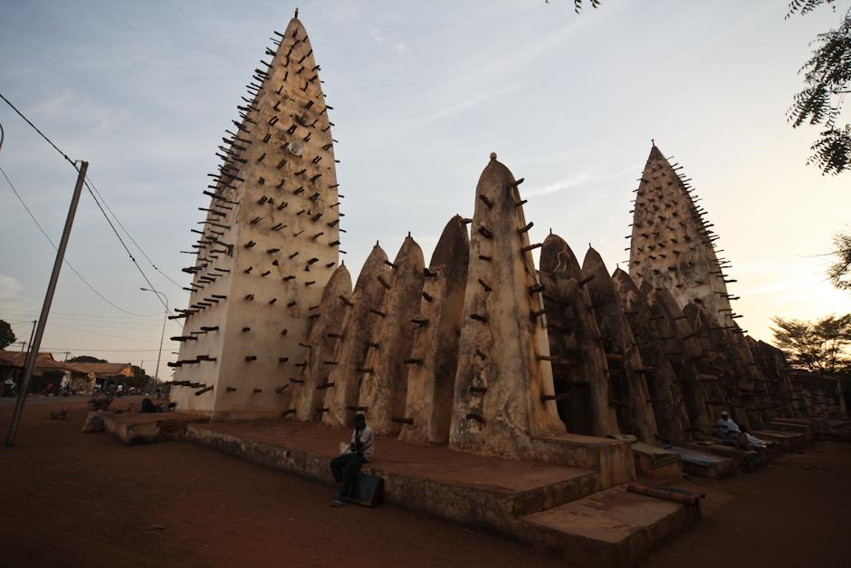 Afrykański meczet - zdjęcia z podróży do Burkiny Faso