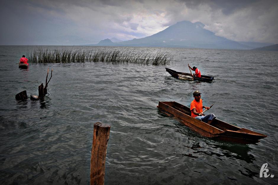 Jezioro Atitlán - zdjęcia z podróży przez Gwatemalę