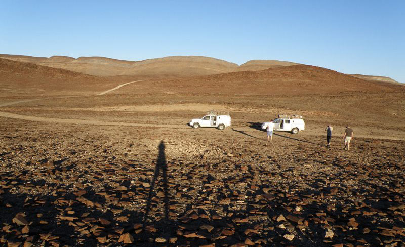 Podróż przez Namibię - Damaraland