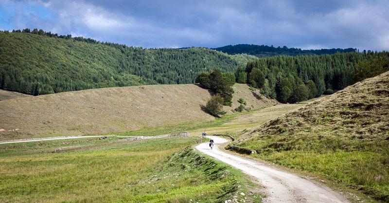 Rowerem przez Rumunię
