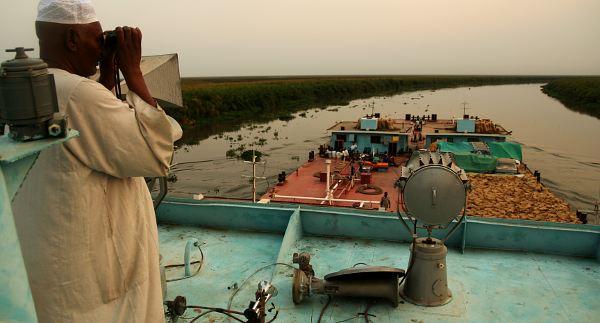 Barką przez Sudan Południowy