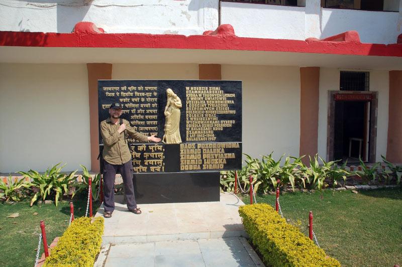 Andrzej Juda w Balachadi - podróż do Indii