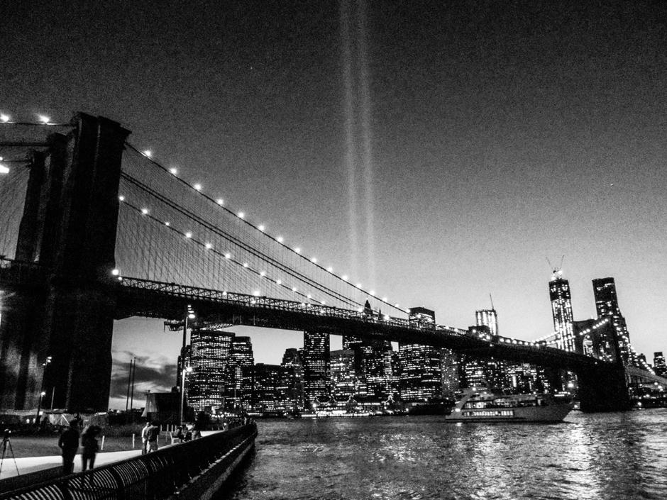 Czarno białe zdjęcia z Nowego Jorku