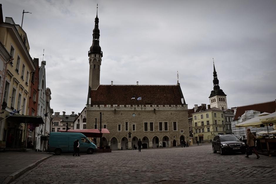 Ratusz w Tallinnie - stolicy Estonii