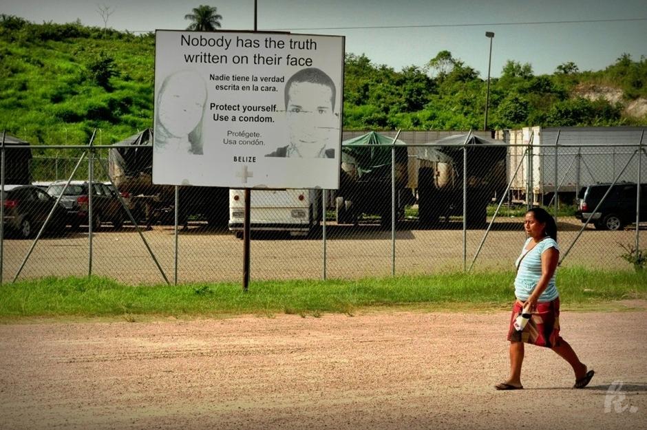 Ostrzeżenie przed HIV/AIDS - zdjęcia z Ameryki Środkowej