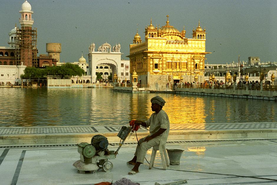 Złota świątynia Sikhów w Armitsarze