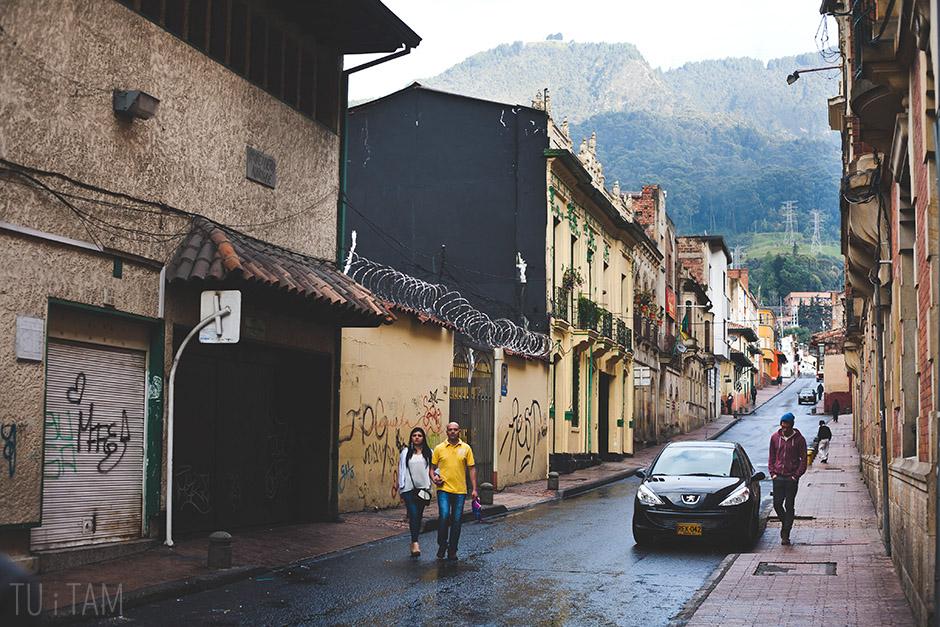 Dzielnica La Candelaria w centrum Bogoty