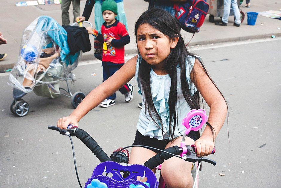 Mała Kolumbijka, Bogota