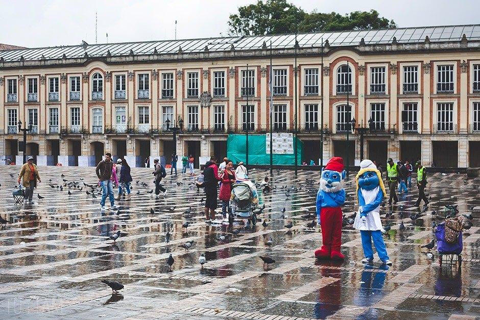 Plac Simona Bolivara, Bogota