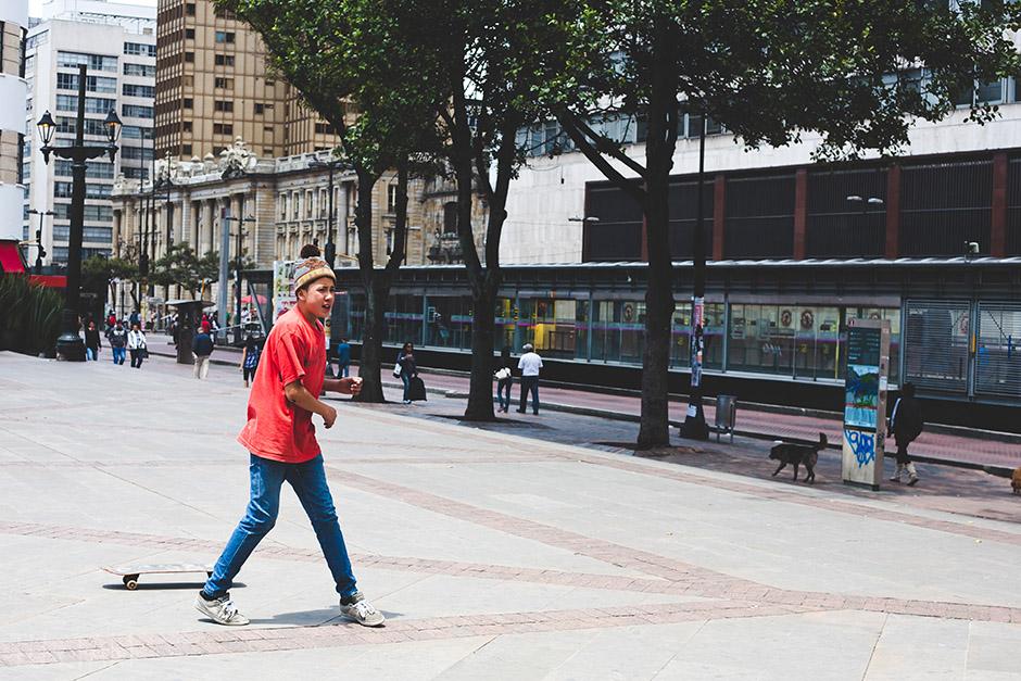 Deskorolkarz, Bogota