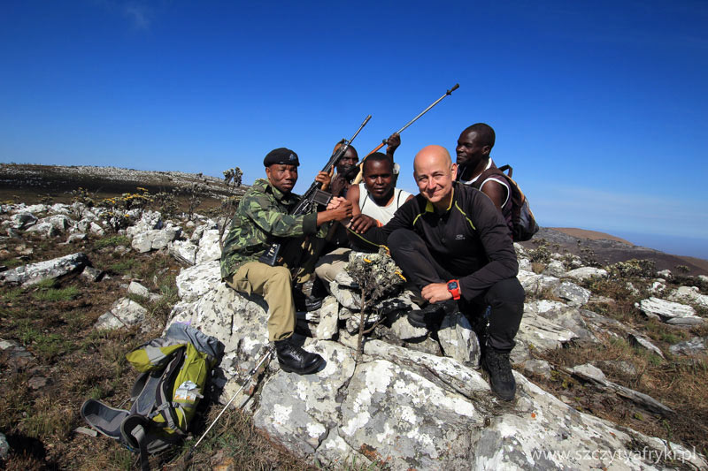 Robert Gondek zdobywa szczyty Afryki