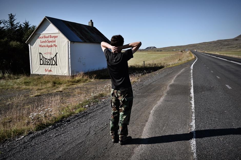 Autostopem przez Islandię - foto