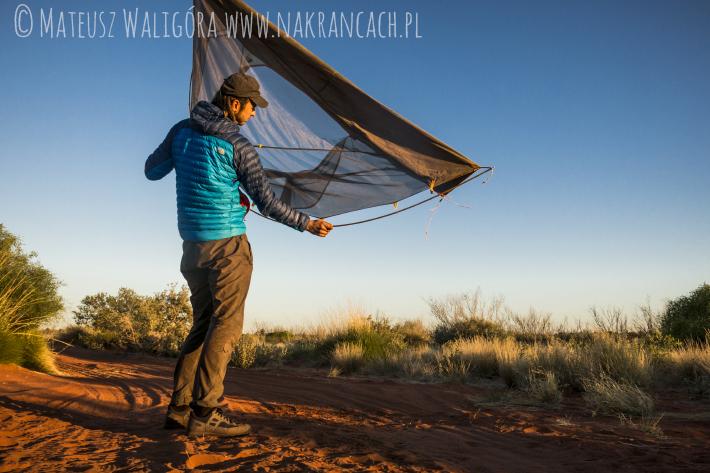Biwak w australijskim outbacku