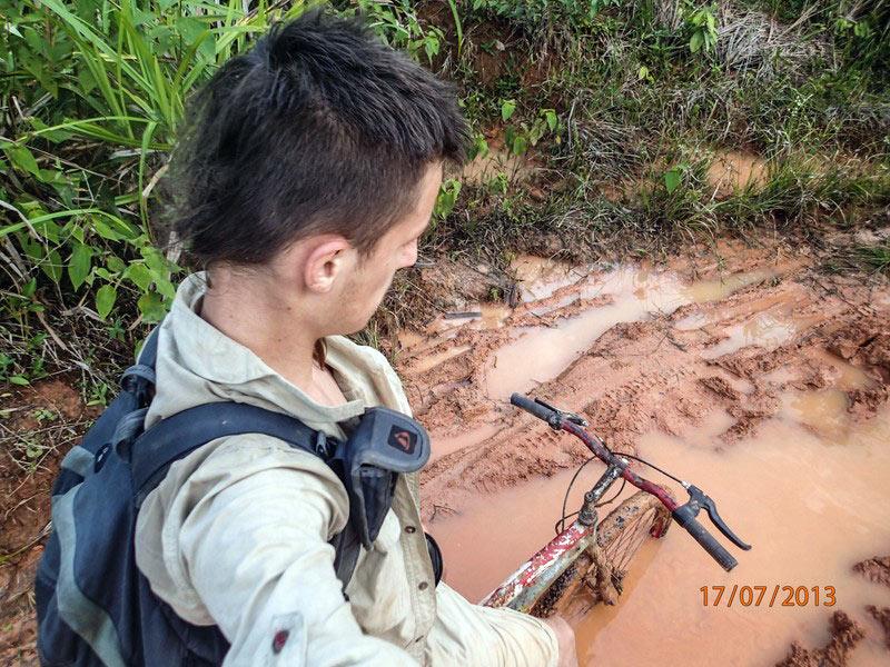 Podróznik Emil Witt w Amazoni