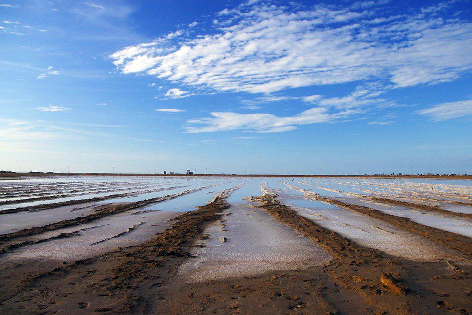Pustynia solna w Kolumbii - foto z podróży
