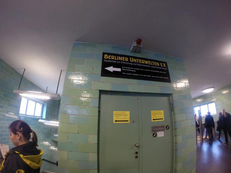 Atrakcje Berlina - podziemia
