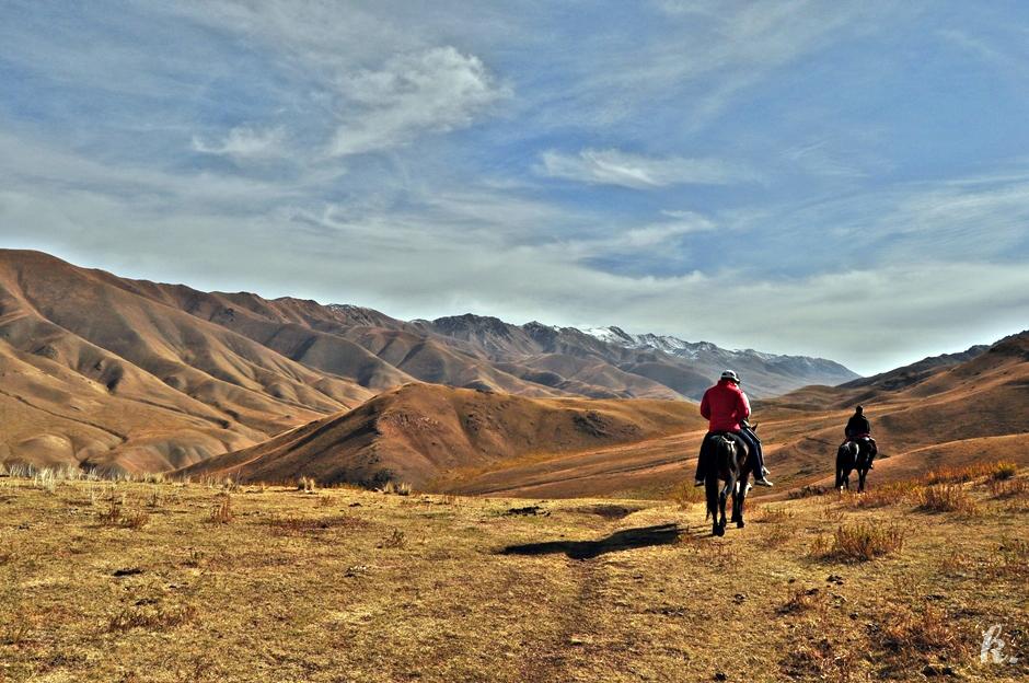 Konna podróż przez Kirgistan - zdjęcia, foto