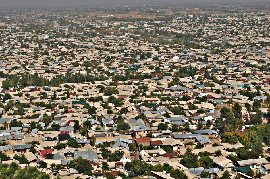 Osz to jedno z największych miast Kirgistanu