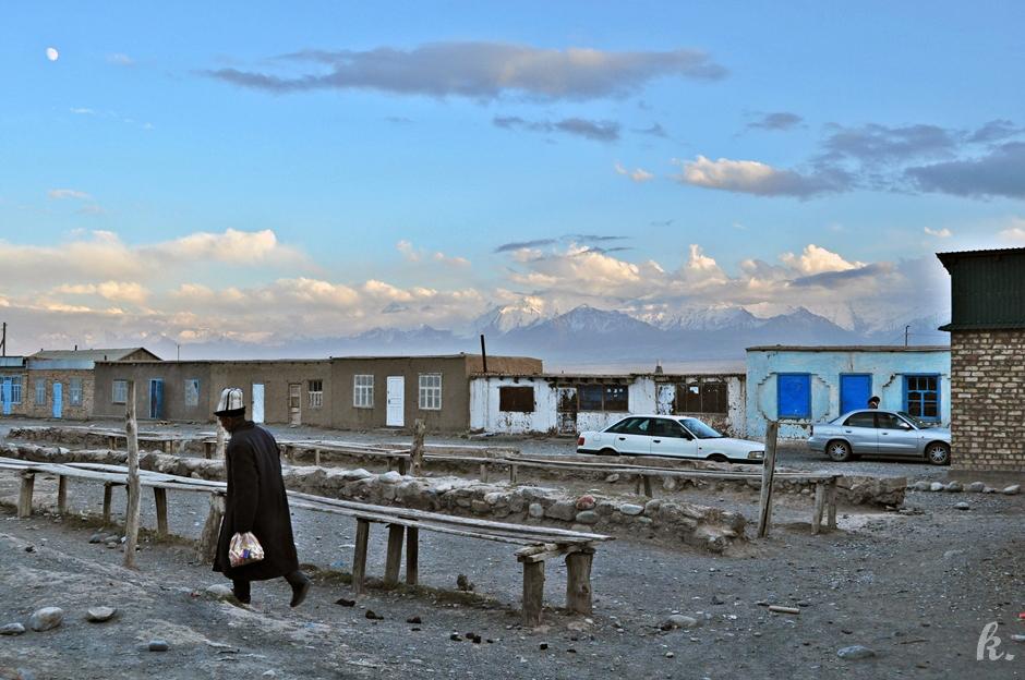 Miejscowość Sary Mogoł - zdjęcia z kirgistanu