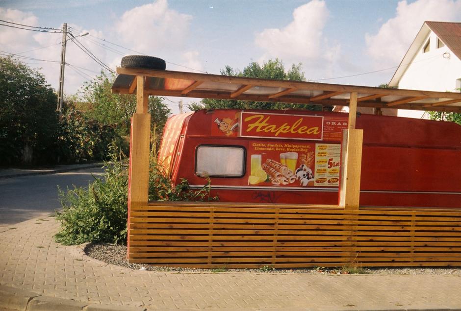 Wczasy w Rumunii. Restauracja w Vama Veche nad Morzem Czarnym