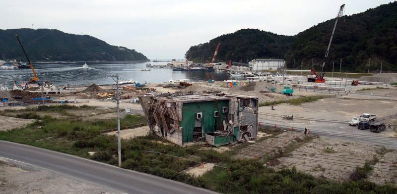 Japonia - zniszczenia po tsunami
