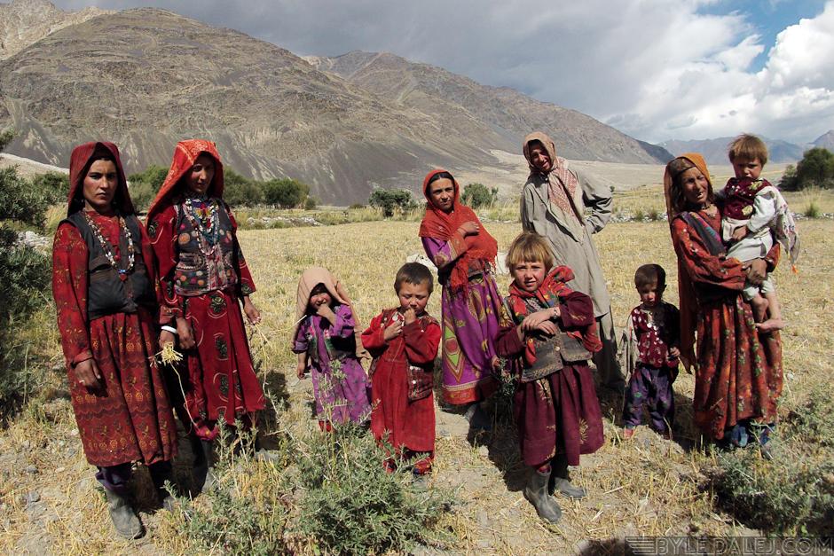 Mieszkańcy Korytarza Wachańskiego w Afganistanie - foto