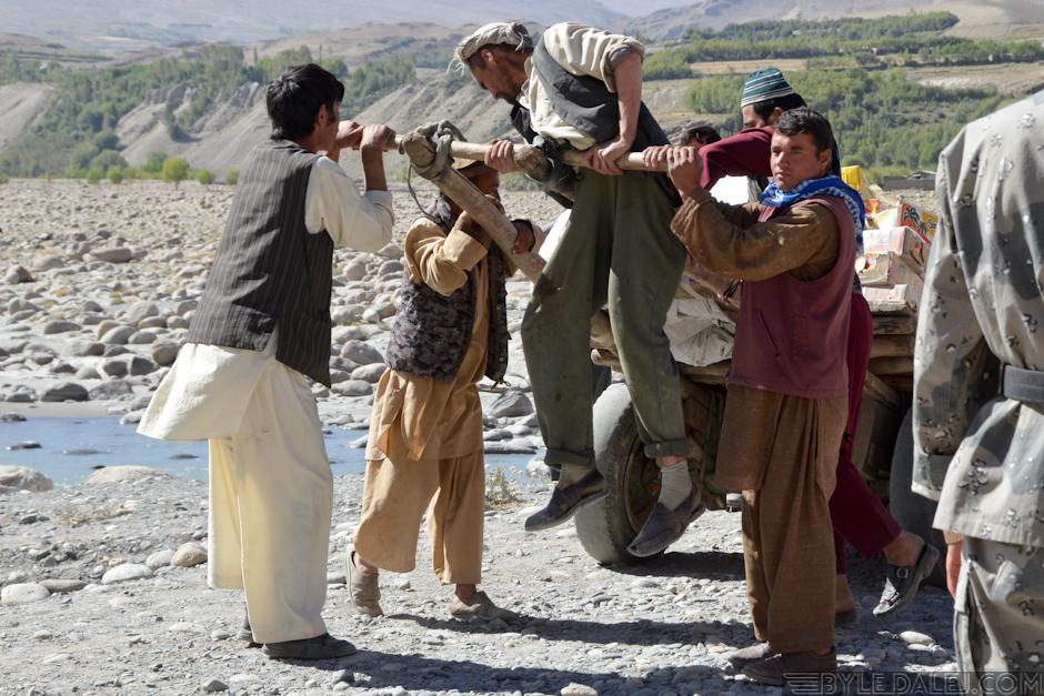 Handlarze z Afganistanu - zdjęcia z podróży motocyklowej