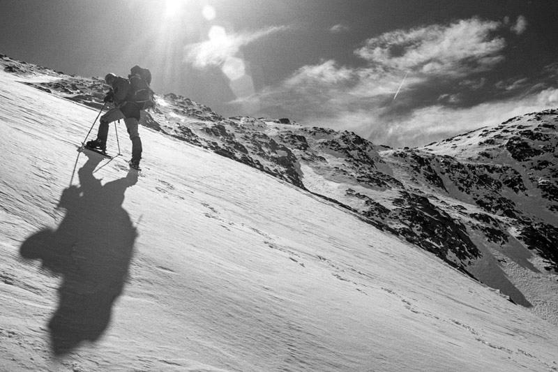 Hiszpańskie Pireneje - góry zimą