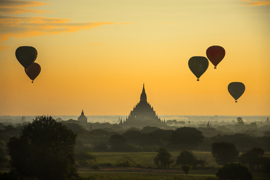 Balony nad Baganem - foto