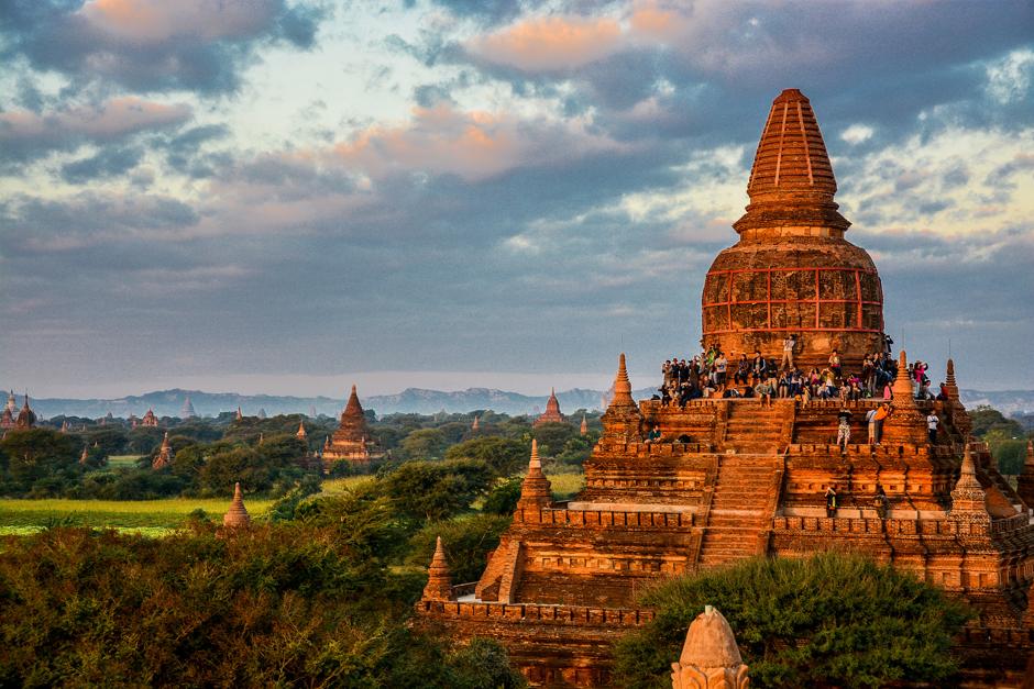 Bagan - światynia buddyjska