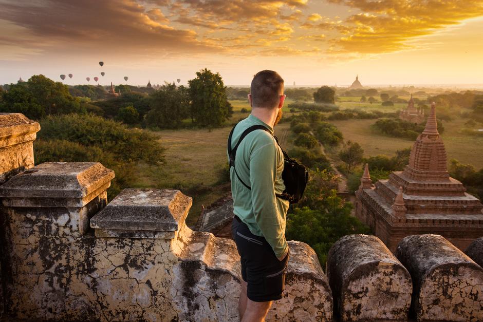 Poranek w Birmie - Paweł Szpala