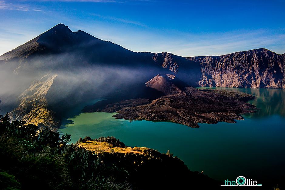 Sagara Anak - jezioro w Indonezji