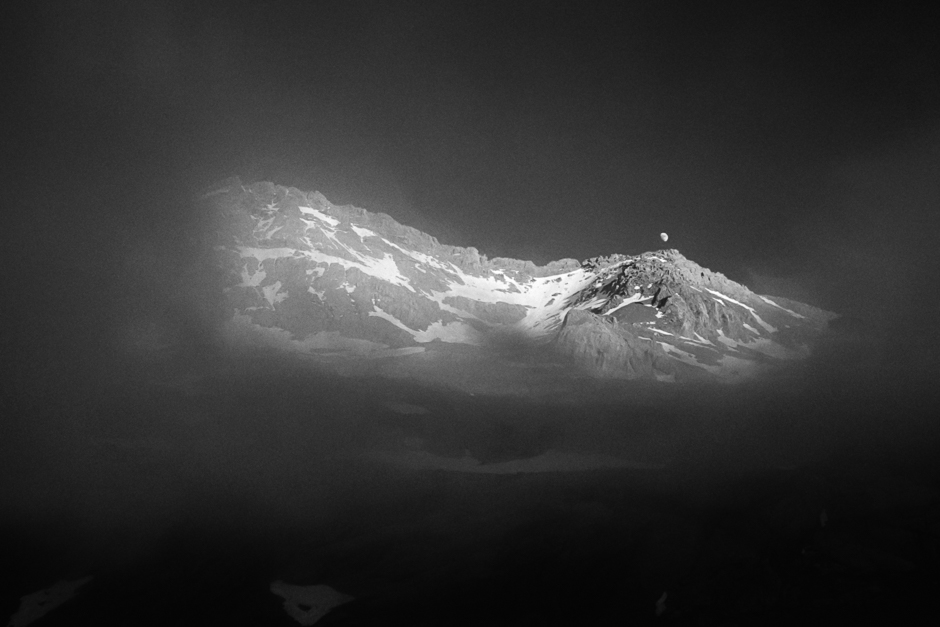Pico Gabieto w hiszpańskich Pirenejach