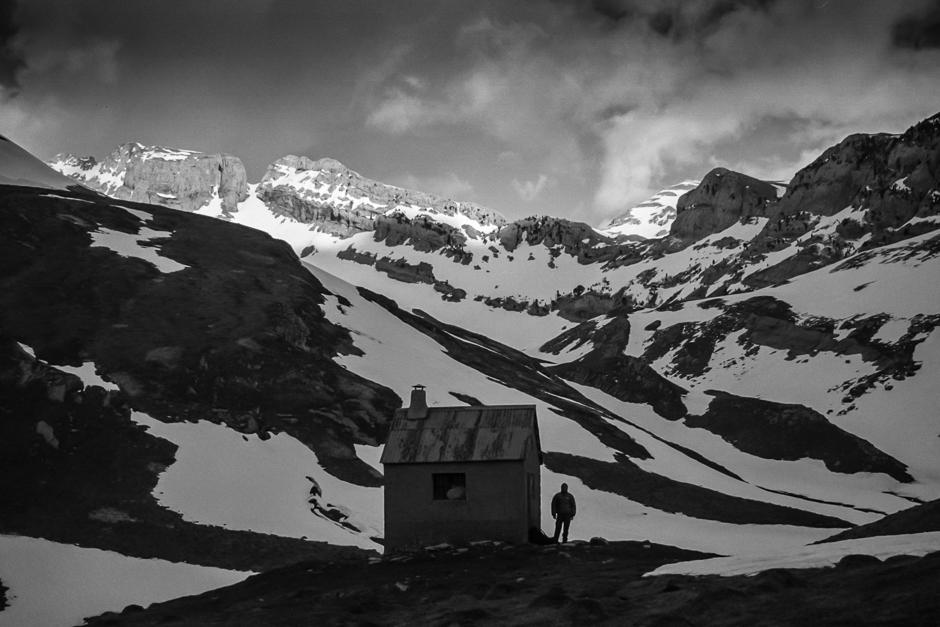 Zdjęcia z zim owej wyprawy w Pireneje