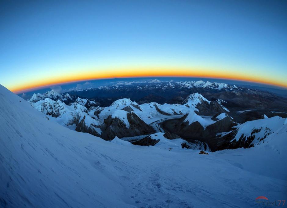 Zimny poranek w Himalajach