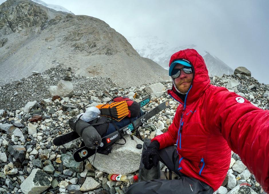 Zejście ze szczytu Cho Oyu - Himalaje 2014