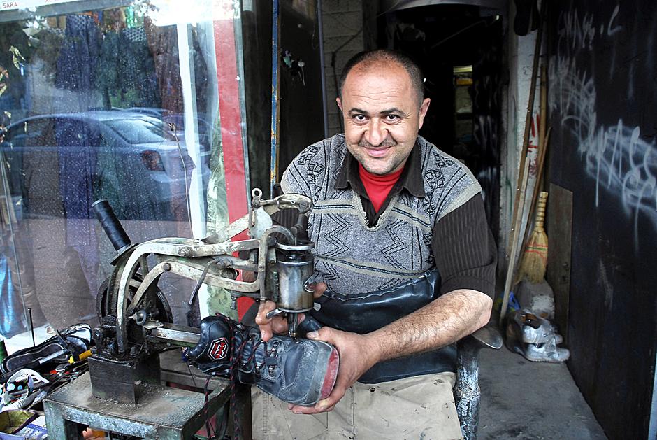 Szewc z Kurdystanu w Iraku